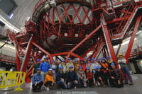 Visit of GTC, the world's largest telescope